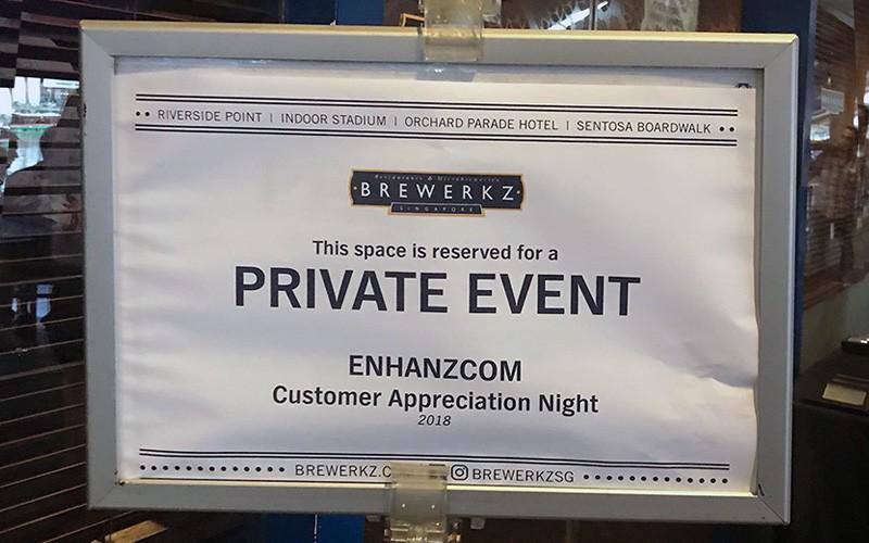Customer Appreciation Night, 3rd May 2018